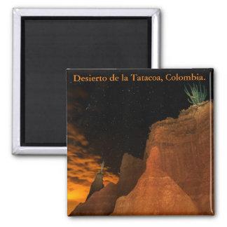 Desert at night, Tatacoa, Colombia Magnet