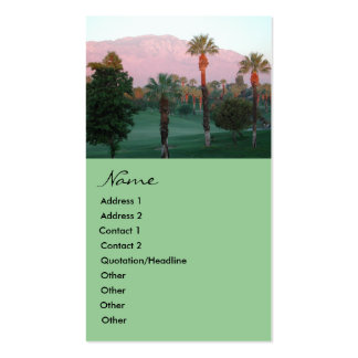 Desert at Sunset Business Cards