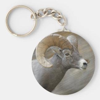 Desert Bighorn Ram Key Ring