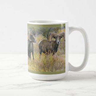Desert Bighorns Fine Art Mug