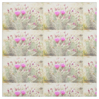 desert blooms fabric