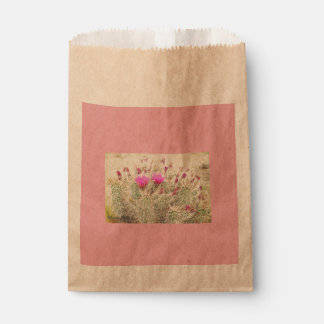 desert blooms favour bag