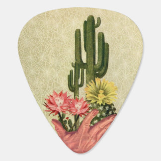 Desert Cacti Handled Delicately Plectrum