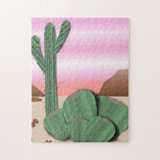 Desert Cactus Jigsaw Puzzle