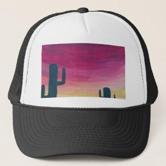 Desert Cactus Trucker Hat