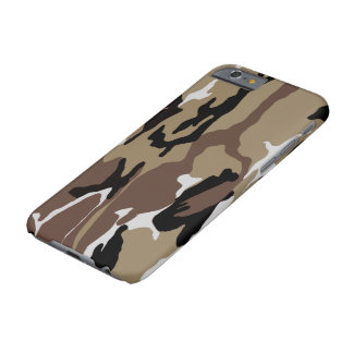 Desert Camo Barely There iPhone 6 Case