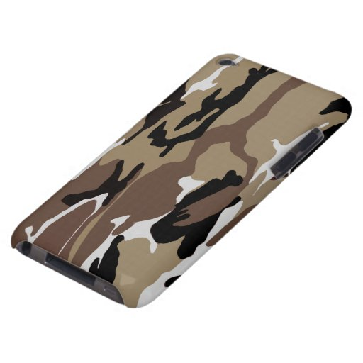 Desert Camo Barely There iPod Covers