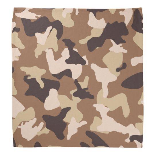 Desert camo sand camouflage army pattern bandana
