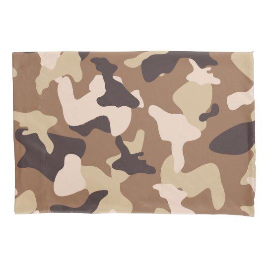 Desert camo sand camouflage army pattern pillowcase