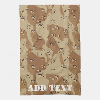 Desert Camouflage (1) Tea Towel