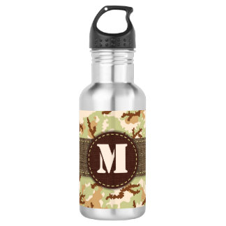 Desert camouflage 532 ml water bottle