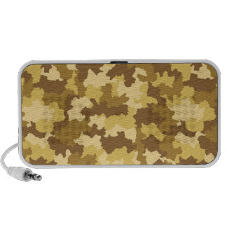Desert Camouflage Audio Speakers