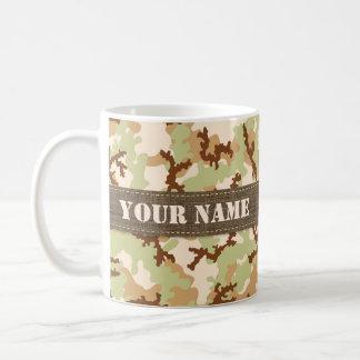 Desert camouflage coffee mug