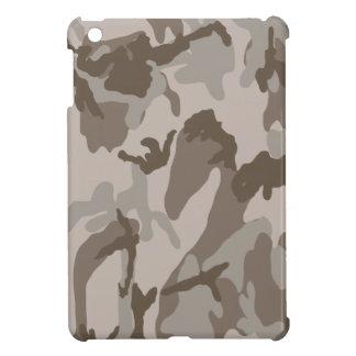 Desert camouflage pattern iPad mini cover