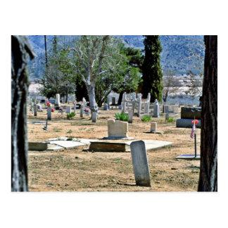 Desert Cemetery Postcards