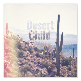 Desert Child - Superstition Wilderness Photo Print