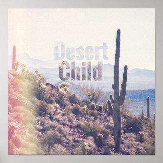 Desert Child - Superstition Wilderness | Poster