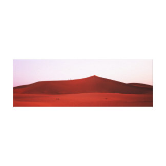 Desert climb canvas print