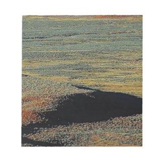 desert color blends notepad