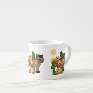 Desert Cowboy Espresso Mug