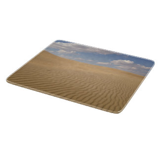 Desert day view cutting board
