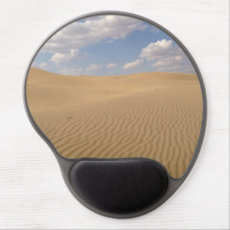 Desert day view gel mouse pad