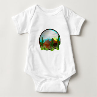 Desert Daydreams Baby Bodysuit
