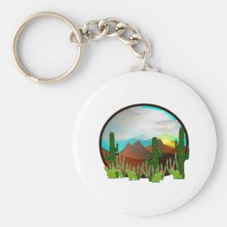 Desert Daydreams Key Ring