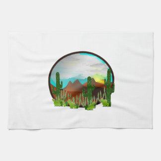 Desert Daydreams Tea Towel