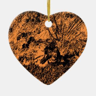 Desert Design Ceramic Heart Decoration