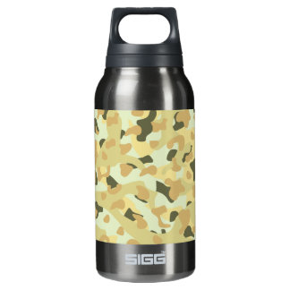 Desert disruptive camouflage insulated water bottle