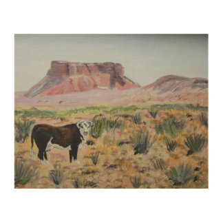Desert Dogie Wood Wall Decor