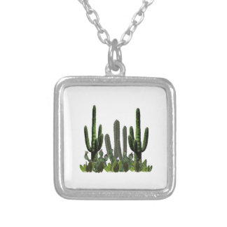 Desert Domain Silver Plated Necklace