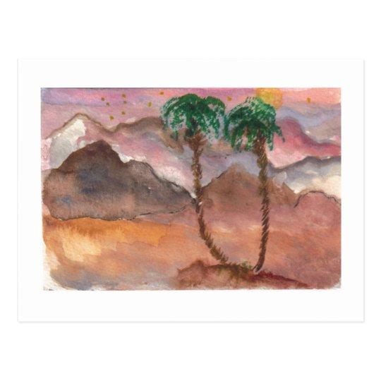 Desert Dreams Postcard