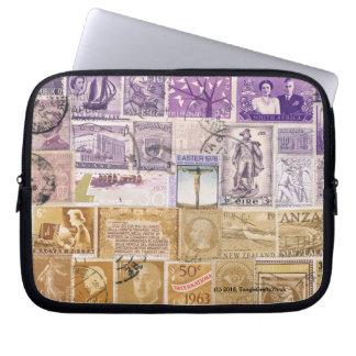 Desert Dusk Laptop Case Sleeve, Postage Stamp Art Laptop Sleeves