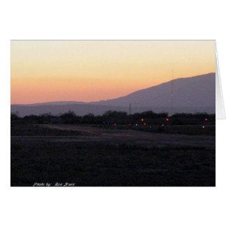 Desert Dusk - Mojave Greeting Card