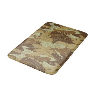 Desert eagle camouflage bath mat