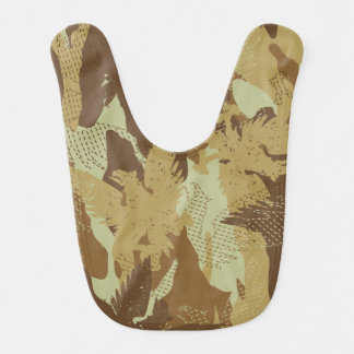 Desert eagle camouflage bib