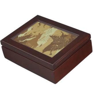 Desert eagle camouflage keepsake box