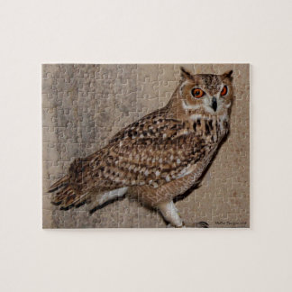 Desert Eagle Owl Jigsaw Puzzle