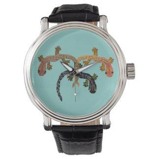 Desert Geckos Wristwatches