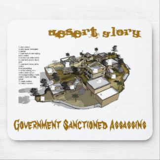 Desert Glory Map Mousepad