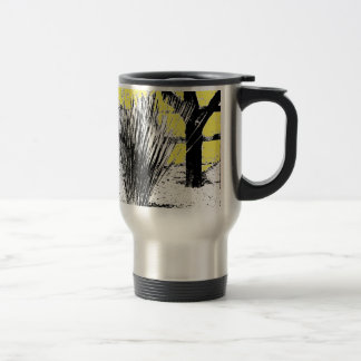 Desert Grass Plant Stainless Steel Travel Mug