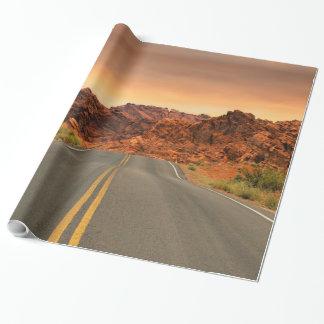 Desert Highway Scenery Landscape