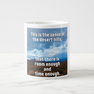 Desert Hills Giant Coffee Mug