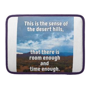 Desert Hills Sleeve For MacBooks