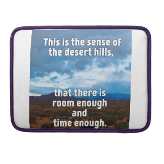 Desert Hills Sleeves For MacBooks