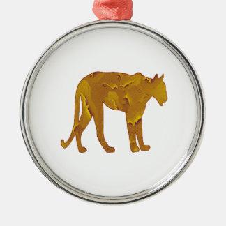 Desert Hunt Metal Ornament