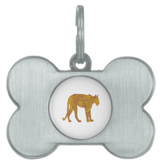 Desert Hunt Pet ID Tag
