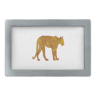Desert Hunt Rectangular Belt Buckles